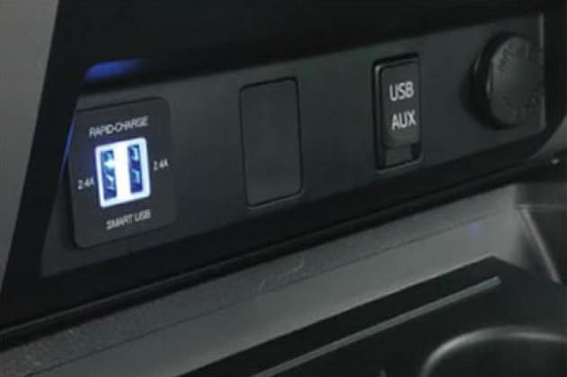 2019 Toyota Sequoia Smart USB Dual Charger