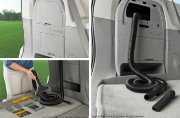 2019 Toyota Sienna On-Board Vacuum - Charcoal