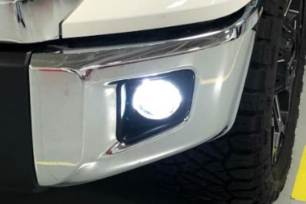 2019 Toyota Tundra 4X2 2 in 1 LED Projector Fog Lights w/LED DRLs