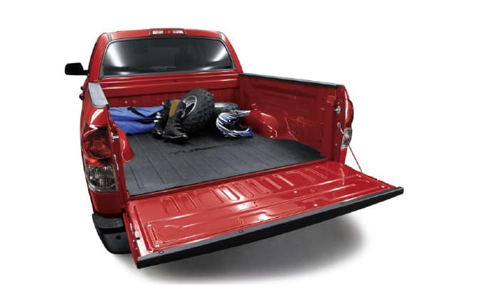 2019 Toyota Tundra 4X2 Bed Mat, Rubber, Tundra - Regular 6.5 Bed