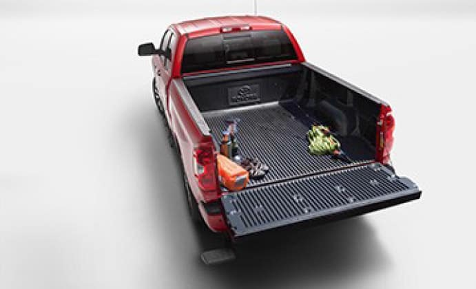 2019 Toyota Tundra 4X2 Skid Resistor™ Bedliner with Deck Rails - Short Bed