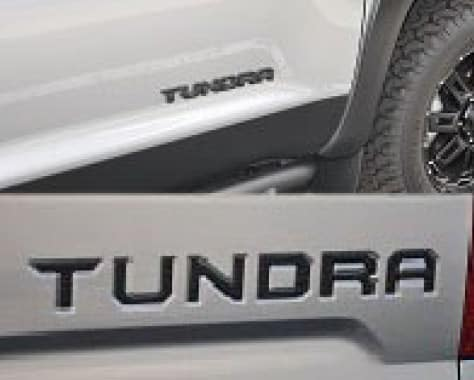 2019 Toyota Tundra 4X2 Black Overlays and Tailgate Insert Package