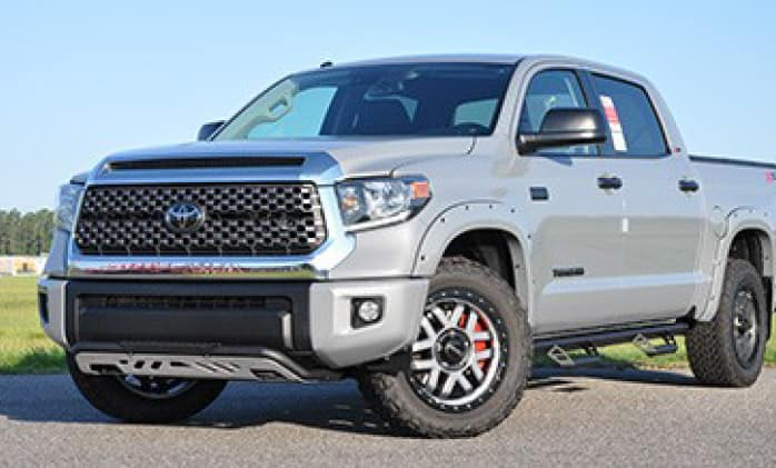 2019 Toyota Tundra 4X2 Color Keyed Bumper Covers - Front and Rear 01D6