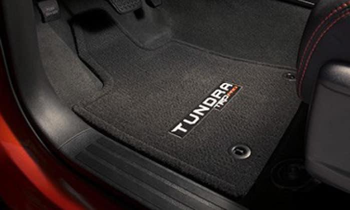 2019 Toyota Tundra 4X2 TRD Pro - Carpet Floor Mats - Black