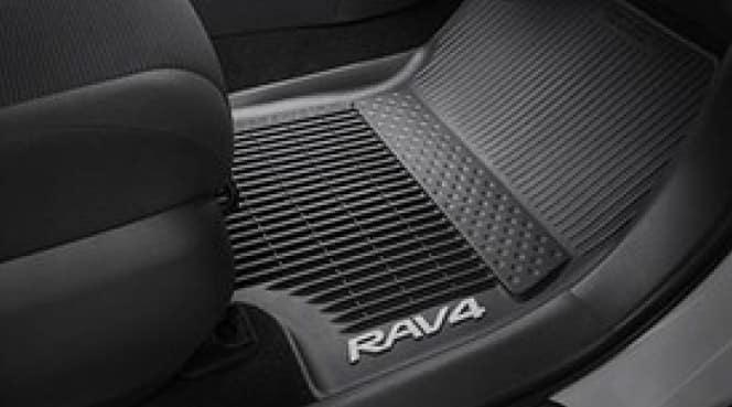 2017 Toyota Rav4 Cargo Liner - Black - Without Subwoofer