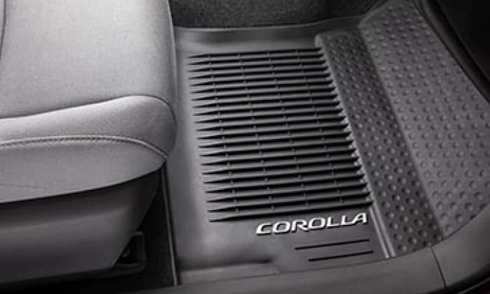 2020 Toyota Corolla All Weather Floor Mats