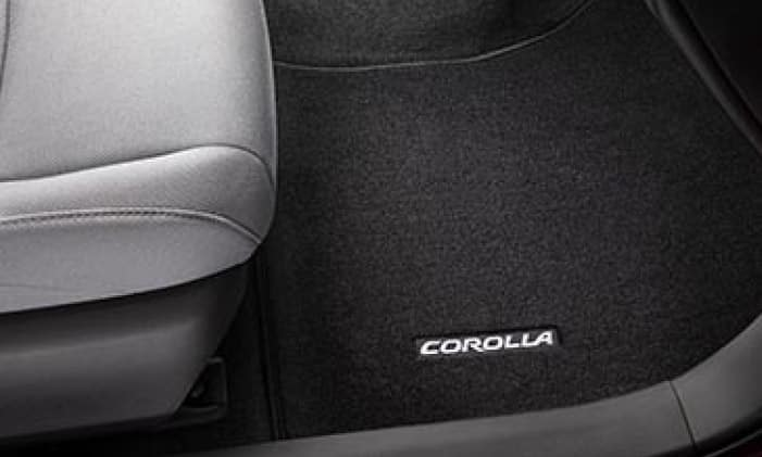 2020 Toyota Corolla Carpet Floor Mats - Black