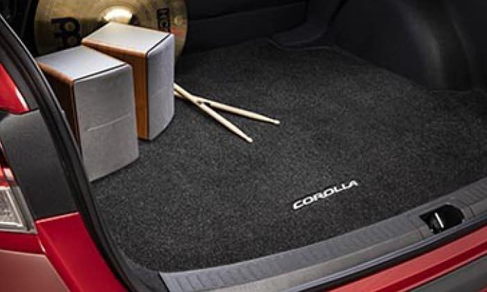 2020 Toyota Corolla Carpet Trunk Mat