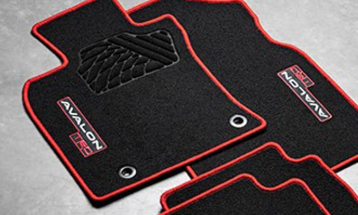 2020 Toyota Avalon Carpet Floor Mats - TRD Model