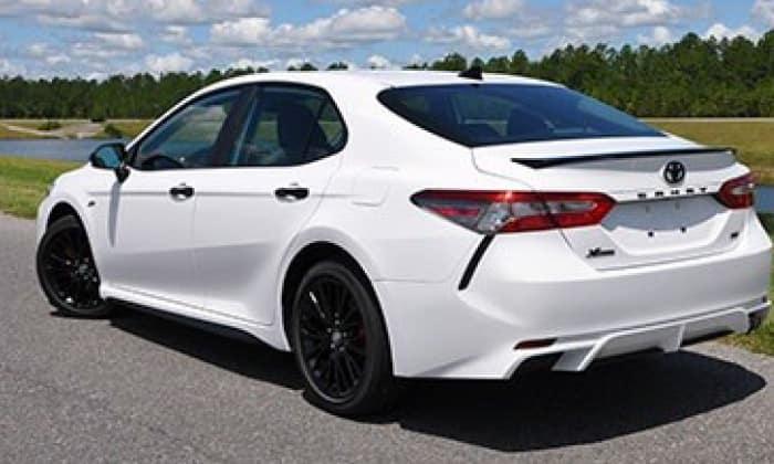 2020 Toyota Camry Blackout Emblem Overlays