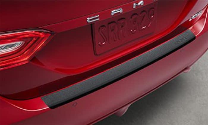 2020 Toyota Camry Rear Bumper Applique - Black