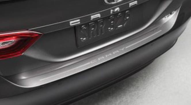 2020 Toyota Camry Rear Bumper Applique - Clear