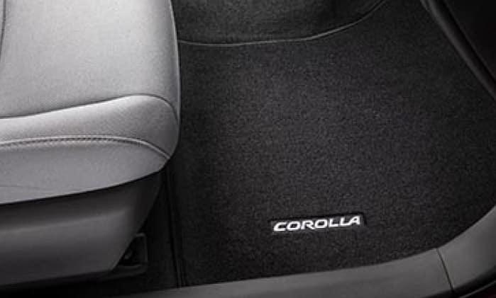 2020 Toyota Corolla Carpet Floor Mats - Black