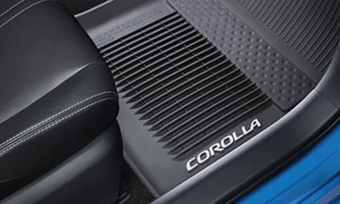 2020 Toyota Corolla All Weather Floor Liners - Black