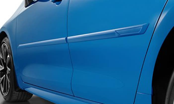 2020 Toyota Corolla Body Side Molding - Blue Flame (08W9)