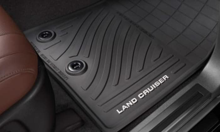 2017 Toyota LandCruiser All Weather Mat