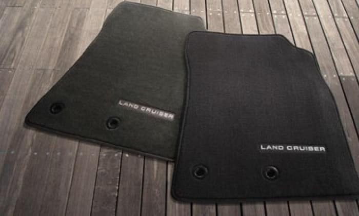 2017 Toyota LandCruiser Floor Mats - Carpet