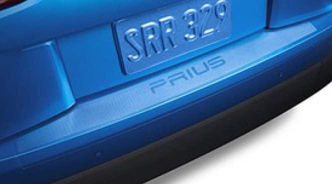 2017 Toyota Prius Rear Bumper Applique