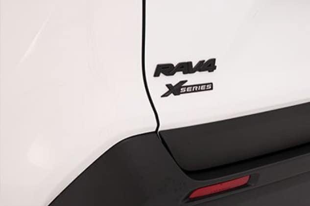 2017 Toyota Rav4 Black Emblem Overlays