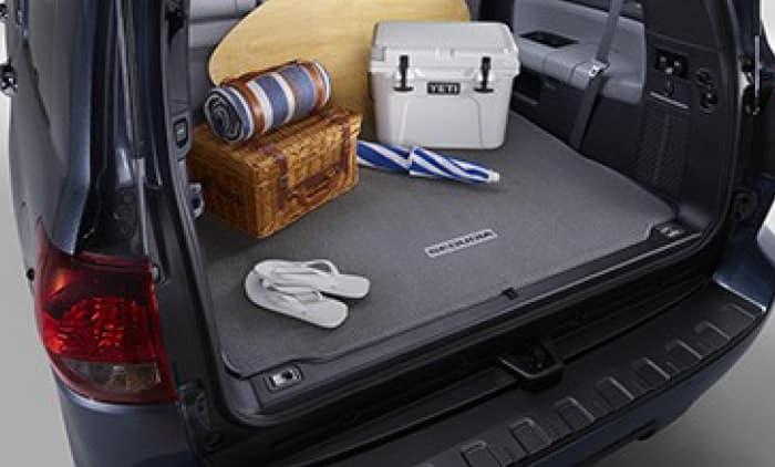 2019 Toyota Sequoia Carpet Cargo Mat - Black