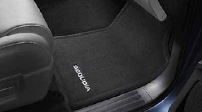2019 Toyota Sequoia Carpet Floor Mat - Pass Thru - 7 Passenger