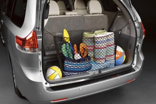2019 Toyota Sienna Cargo Net
