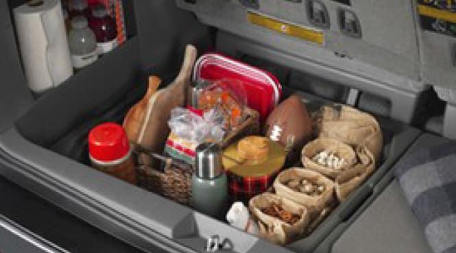 2019 Toyota Sienna Cargo Organizer - Ash Manual 3rd Row Seats