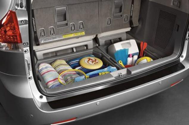 2019 Toyota Sienna Cargo Organizer - Bisque