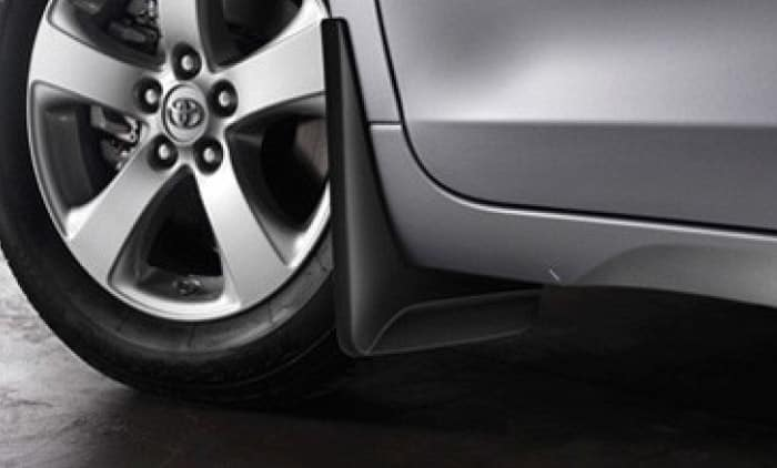 2019 Toyota Sienna Mudguards - Front and Rear