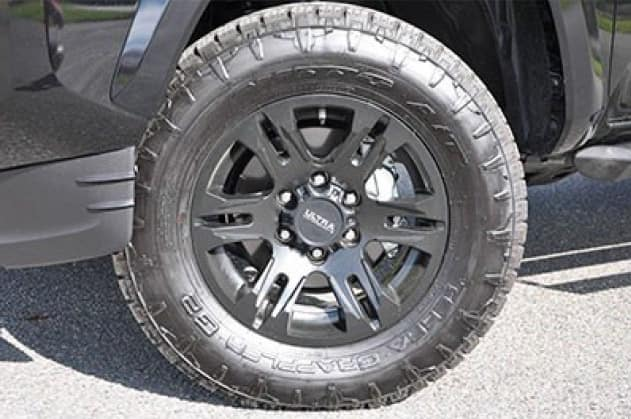 2020 Toyota Tacoma 4X2 17 inch Maverick Black Wheel (Tires not included)