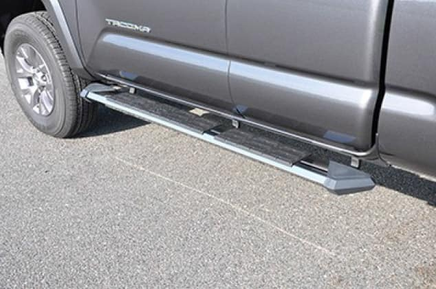 2020 Toyota Tacoma 4X2 Stealth Stainless Steel Running Boards