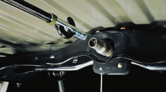 2020 Toyota Tacoma 4X2 Spare Tire Lock