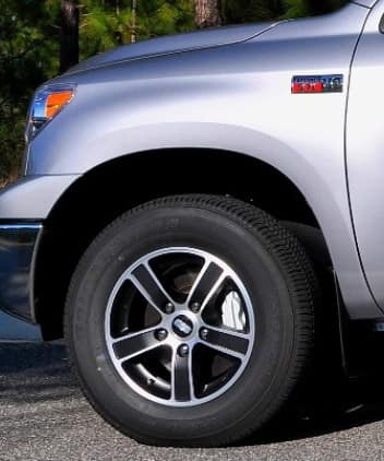 2020 Toyota Tundra 4X2 18inch BBS Black (Tires not included)