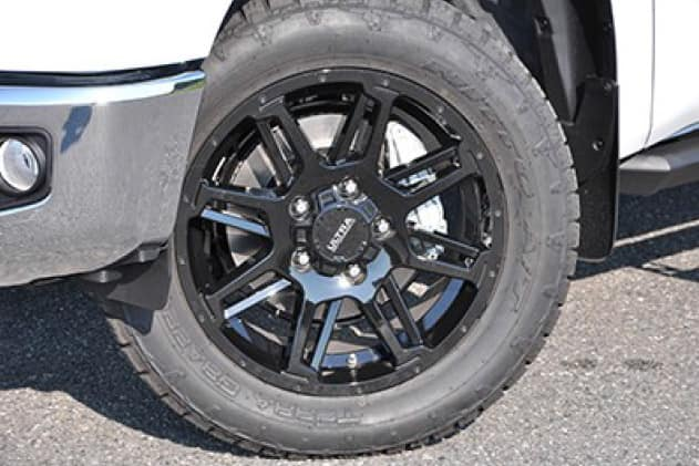 2020 Toyota Tundra 4X2 20inch Black Gunner Wheels (Tires not included)