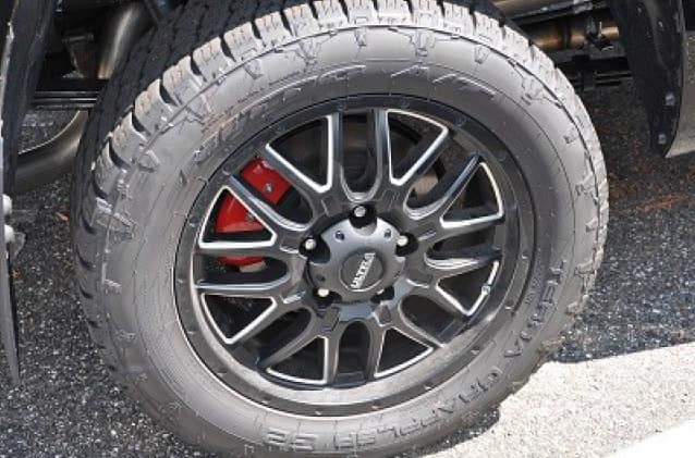 2020 Toyota Tundra 4X2 20inch Hunter Wheels (Tires not included)