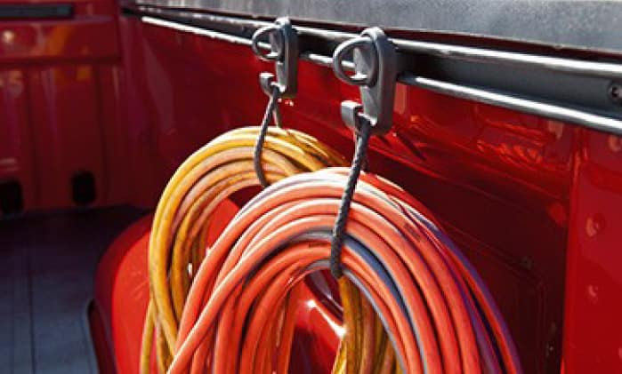 2020 Toyota Tundra 4X2 Mini Tie-Downs with Hooks
