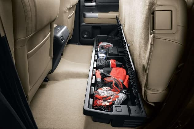 2020 Toyota Tundra 4X2 Underseat Storage (not for JBL or NAV)