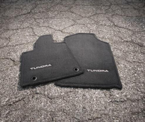 2020 Toyota Tundra 4X2 Carpet Floor Mats - Black - SR/SR5 Double Cab