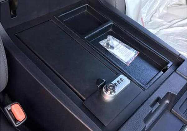2020 Toyota Tundra 4X2 Center Console Safe
