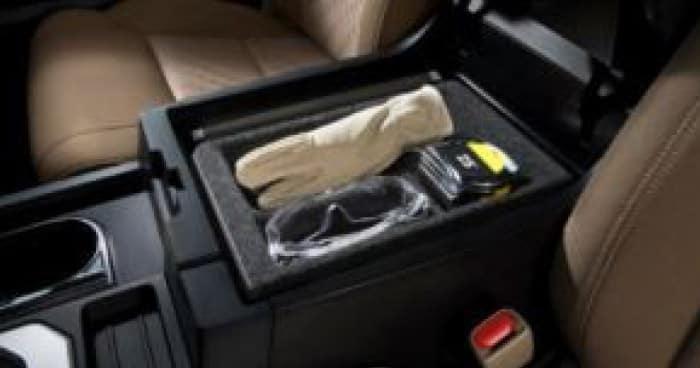 2020 Toyota Tundra 4X2 Center Console Tray