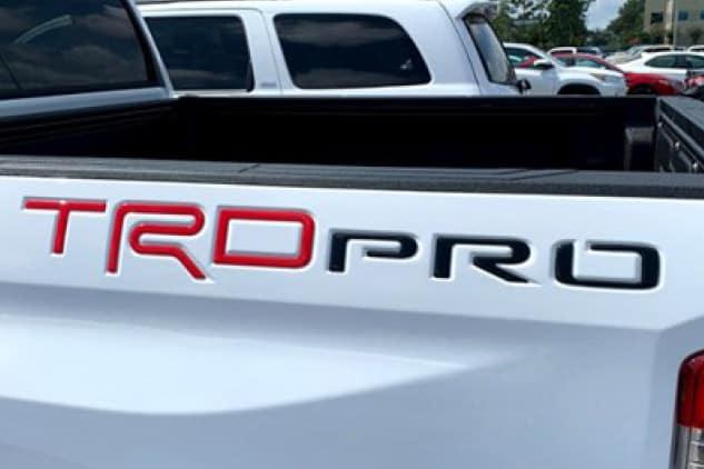 2020 Toyota Tundra 4X2 Soft Tonneau Cover - 6.5FT