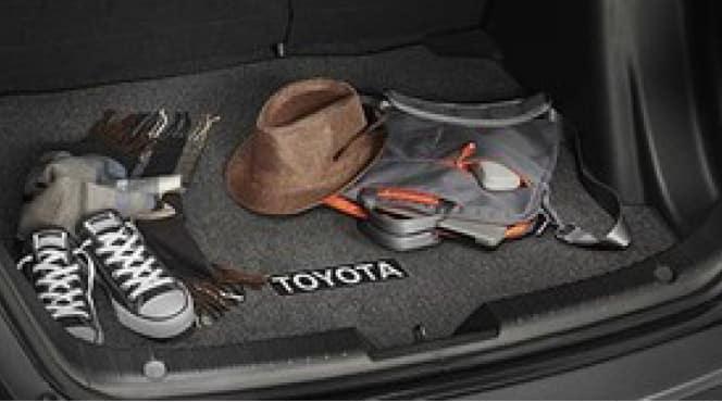 2020 Toyota Yaris Carpet Trunk Mat