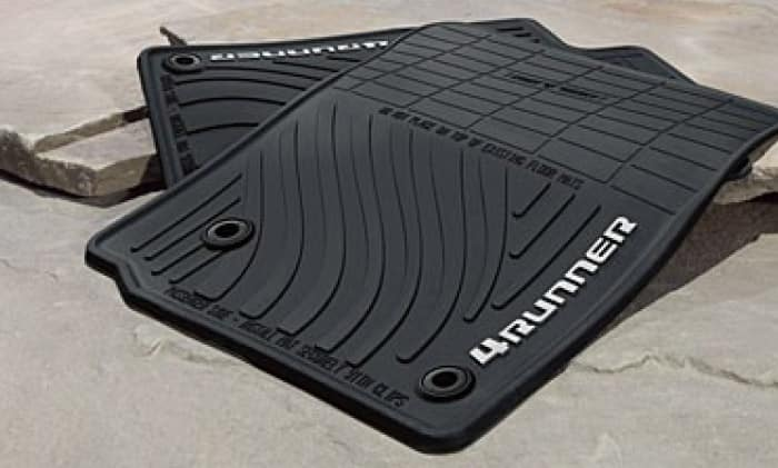 Toyota 4Runner All Weather Floor Mats - Black