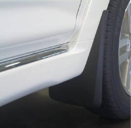 Toyota 4Runner Mudguards - Black