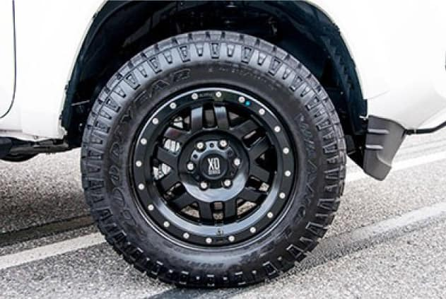 2020 Toyota Tacoma 4X2 17 inch Beadlock Style Wheel