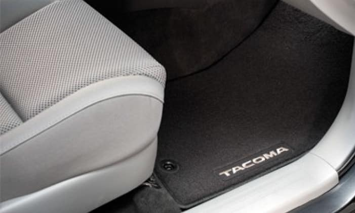 2020 Toyota Tacoma 4X2 Carpet Mats Black - Limited - Double Cab - Automatic
