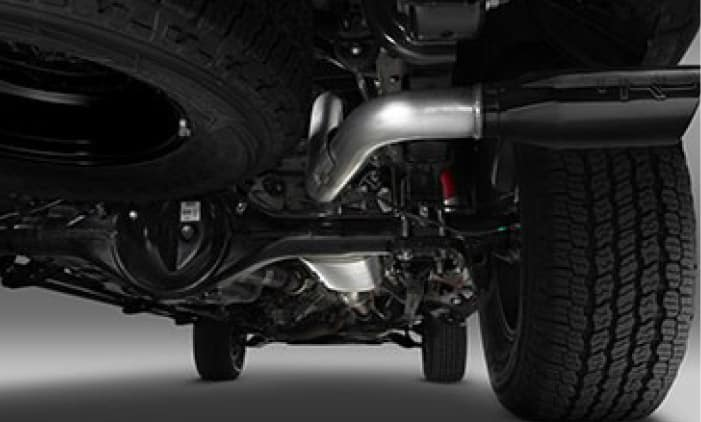 2020 Toyota Tacoma 4X2 TRD Cat-Back Exhaust System - Long Bed