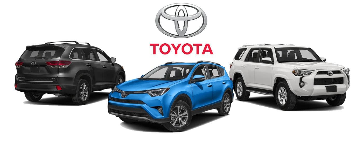 2018 Toyota SUVs
