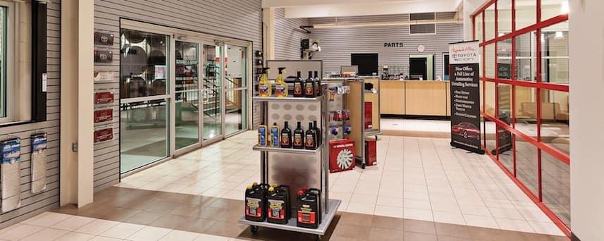 Heyward Allen Toyota parts store