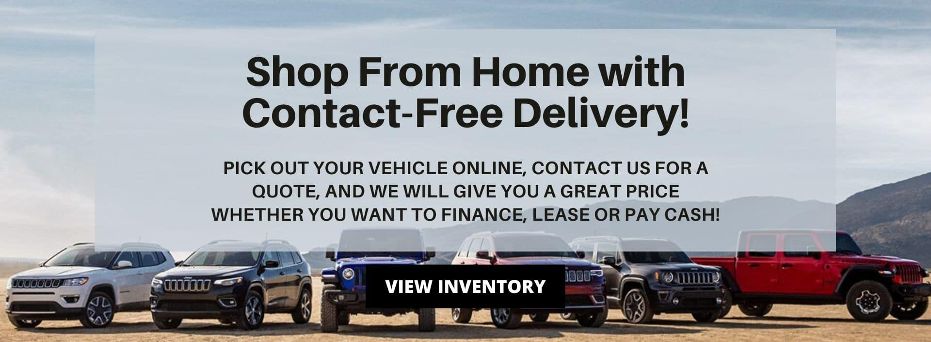 Offering Contact Free Home Delivery